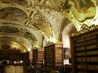 Prag, Kloster Strahow, theologischer Bibliothekssaal